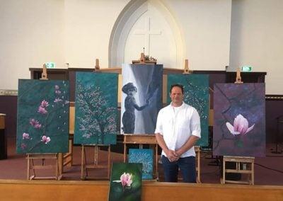 Jan Joost Maasland Art tentoonstelling kerk Voorthuizen