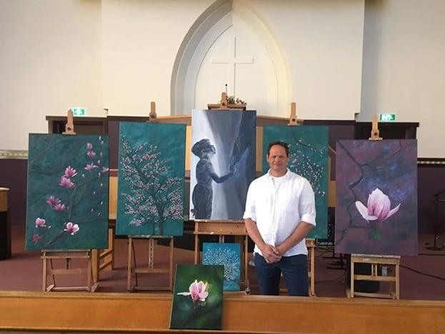Expositie gereformeerde kerk Voorthuizen