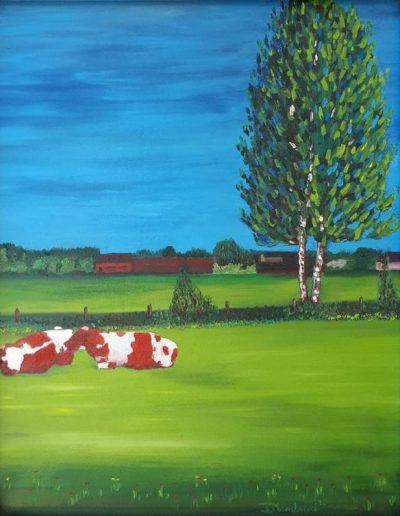 Twee koeien Barnseweg