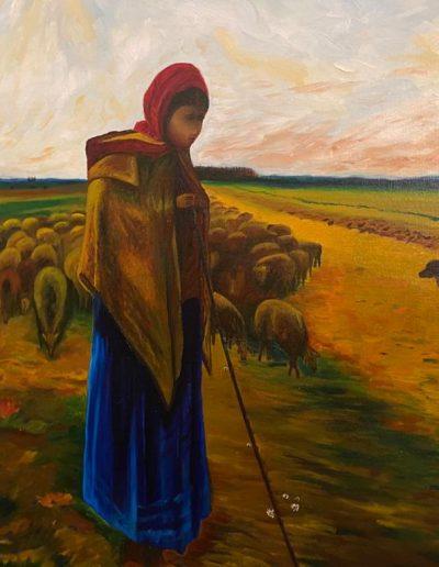 maaslandartherderin